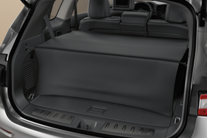 View Cargo Area Cover - Rear, Black Full-Sized Product Image